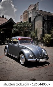 Jogjakarta / Indonesia - November 30, 2011 : Volkswagen Beetle Oval 1957