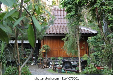 Joglo, is a Javanese tribal house in the country of Indonesia. In this modern era, joglo house has changed its function as a tourism object