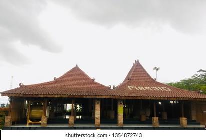 Joglo Mosque (Masjid Joglo) in Klaten  in Central Java in Indonesia.