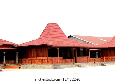 Joglo, tradisional house from Central Java, Indonesia.