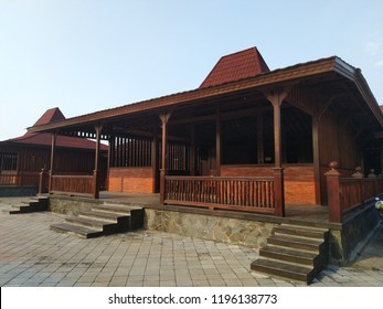Joglo, tradisional house from Central Java, Indonesia