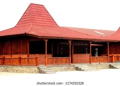 Joglo, tradisional house from Central Java/Yogyakarta, Indonesia