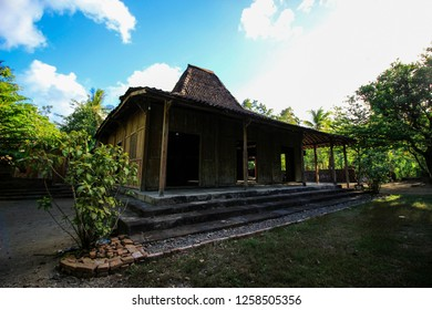 Joglo traditional House is in Yogyakarta, Central Java Indonesia