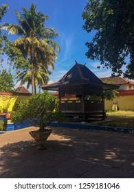 Joglo-Javanese Gazebo made by wood.