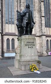 Johann Sebastian Bach Monument Thomaschurch Leipzig