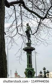 Såningskvinnan, Johanna Statue in Brunnparken, Gothenburg, Sweden