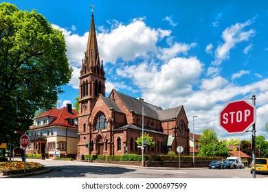 Johannes-Brenz-Kirche in Weil der Stadt, Germany - Shutterstock ID 2000697599