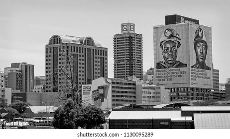 Johannesburg began as a gold-mining settlement. Today the city is one of the world's leading financial centers and the economic & financial hub of South Africa. Johannesburg - December 21, 2013