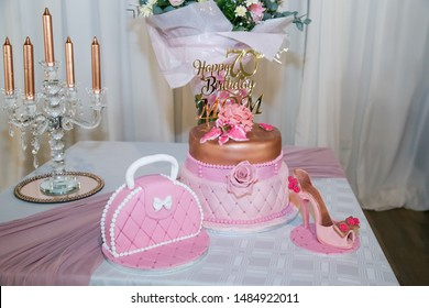 Amazing 70Th Birthday Cake Stock Photos Images Photography Shutterstock Funny Birthday Cards Online Overcheapnameinfo
