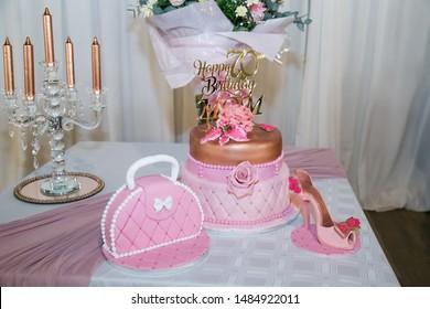 Sensational 70Th Birthday Cake Stock Photos Images Photography Shutterstock Funny Birthday Cards Online Kookostrdamsfinfo