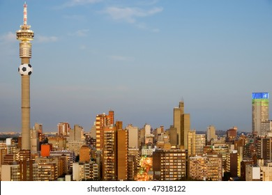 Johannesburg, South Africa - 2010 World Cup Host City