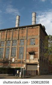 JOHANNESBURG, SOUTH AFRICA - CIRCA OCTOBER 2018: Old power plant building in Newtown