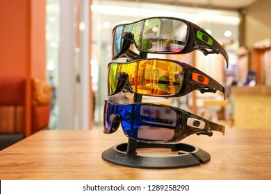 Johannesburg, South Africa - July 05 2011: Inside Interior of an Optometrist in a Mall