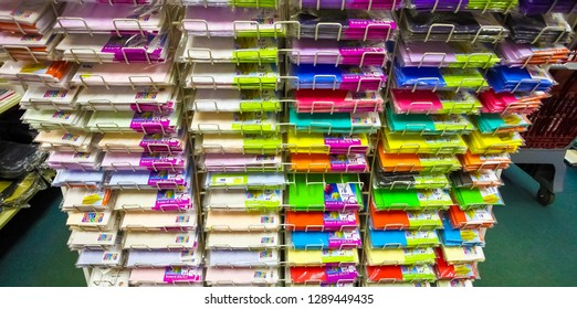 Johannesburg, South Africa - July 05 2011: Inside interior of a Stationery Store