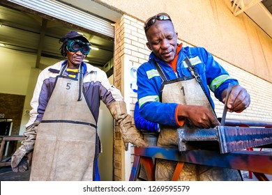 Johannesburg, South Africa - July 23 2012: Vocational Skills Training Centre in Africa