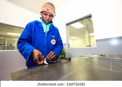 Johannesburg, South Africa - June 28 2011: Vocational Skills Training Centre in Africa