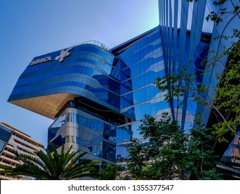 Johannesburg, South Africa - March 07, 2019; Sasol head Quaters in Sandton,