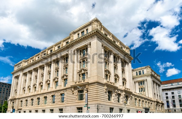 John A. Wilson Building housing the municipal offices and chambers of the Mayor and the Council of the District of Columbia. United States