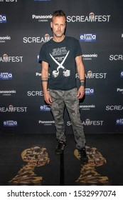 """John Adams attends 19th Annual Horror Film Festival - Screamfest - """"Rabid"""" Los Angeles Premiere - Arrivals at TCL Chinese Theatre, Hollywood, CA on October 16, 2019"""