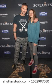"""John Adams, Zelda Adams attend 19th Annual Horror Film Festival - Screamfest - """"Rabid"""" Los Angeles Premiere - Arrivals at TCL Chinese Theatre, Hollywood, CA on October 16, 2019"""
