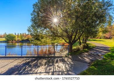 John Avant Park is located in the Erindale neighborhood of Saskatoon.