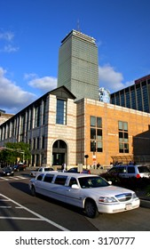 The John B. Hynes Veterans Memorial Convention Center located in Boston's Back Bay