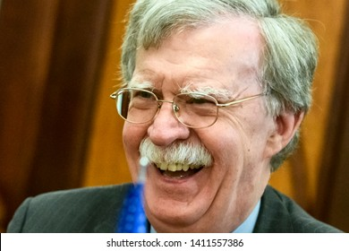 John Bolton National Security Advisor to the United States during a visit to Kyiv, Ukraine. 24-08-2018