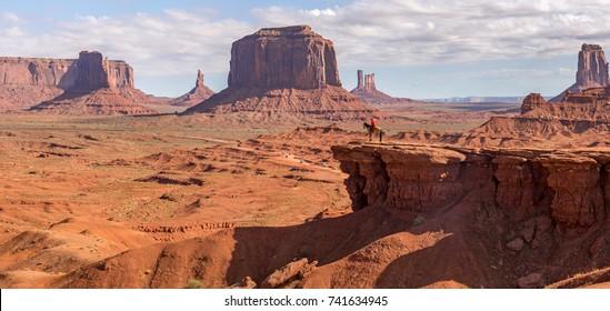 John Ford Point at Monument Valley Navajo Park