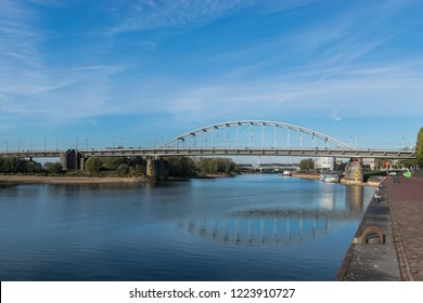 John Frost bridge in Arnhem
