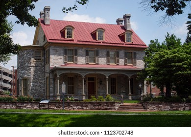 John Harris Simon Cameron Historic Mansion Harrisburg Pennsylvania