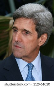 """John Kerry at an instore event to promote the new book """"This Moment on Earth"""". Duttons Brentwood, Los Angeles, CA. 04-04-07"""