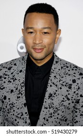 John Legend at the 2016 American Music Awards held at the Microsoft Theater in Los Angeles, USA on November 20, 2016.