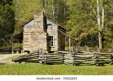 John Oliver Cabin, cades cove, Smoky mountains, Tennessee