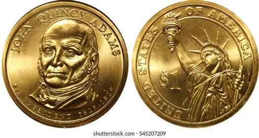 John Quincy Adams Presidential Dollar