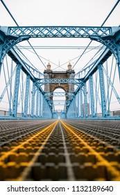 John A Roebling Suspension Bridge, Cincinnati, Ohio