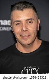 """John Salazar attends 19th Annual Horror Film Festival – ScreamFest - Opening Night """"Eat, Brains, Love"""" Los Angeles Premiere at TLC Chinese Theatre, Hollywood, CA on October 8, 2019"""