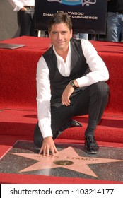 John Stamos at the induction ceremony of John Stamos into the Hollywood Walk of Fame, Hollywood Blvd., Hollywood, CA. 11-16-09