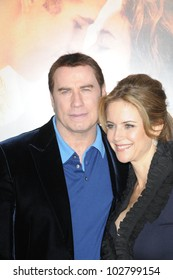 "John Travolta and Kelly Preston at ""The Last Song"" World Premiere. Arclight, Hollywood, CA. 03-25-10"