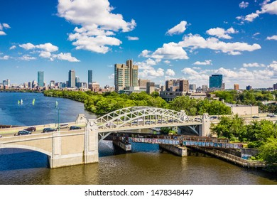 John Weeks Memorial Footbridge over the Charles River, Cambridge