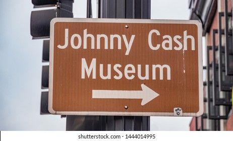 Johnny Cash Museum in Nashville - NASHVILLE, TENNESSEE - JUNE 15, 2019
