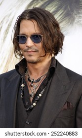 "Johnny Depp at the Los Angeles premiere of ""Dark Shadows"" held at the Grauman's Chinese Theater in Hollywood, California, United States on May 7, 2012."