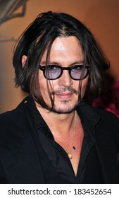Johnny Depp at The Museum of Modern Art Film Benefit A Tribute to TIM BURTON, MoMA Museum of Modern Art, New York, NY November 17, 2009