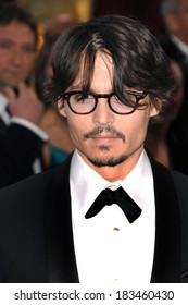Johnny Depp at Part 2 - RED CARPET - 80th Annual Academy Awards Oscars Ceremony, The Kodak Theatre, Los Angeles, CA, February 24, 2008