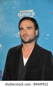 Johnny Galecki at the 2009 Spike TV Scream Awards, at the Greek Theatre, Los Angeles. October 17, 2009  Los Angeles, CA Picture: Paul Smith / Featureflash