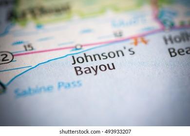 Johnson's Bayou. Louisiana. USA.