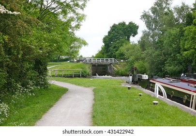 Johnson's Hillock Locks, Whittle Springs, Lancashire, United Kingdom