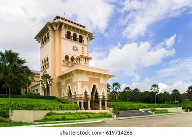 JOHOR BAHRU, MALAYSIA - DEC 2ND, 2016 :Kota Iskandar main building. Kota Iskandar is an administrative centre for the state government of Johor, Malaysia.