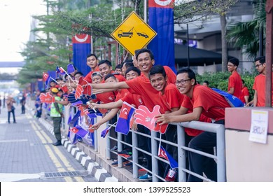 Johor Bahru, Malaysia - March 23,2015 : Coronation ceremony of  Johor Sultan, Today, Sultan Ibrahim Ibni Almarhum Sultan Iskandar is crowned the fifth Sultan of States of Johor, Malaysia