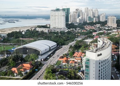 Johor Bahru/Malaysia: 31st december 2016- Johor Bahru is one of the biggest city in Malaysia.  Recent years it has go through a major development in order to support the growing population.