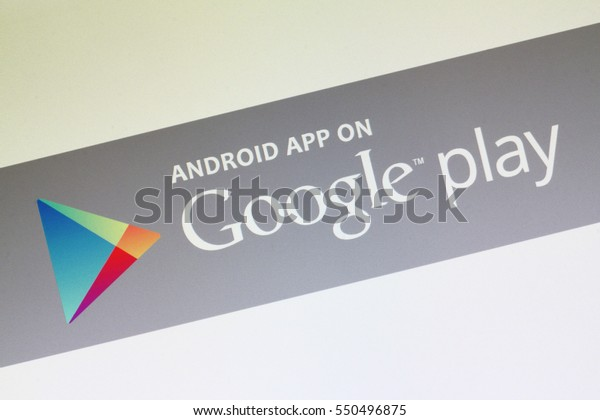 Johor, Malaysia - 25 Mar, 2015: The Google Play Store is the official pre-installed app on Android devices which provides access to the Google Play store, 25 Mar, 2015 in Johor, Malaysia.